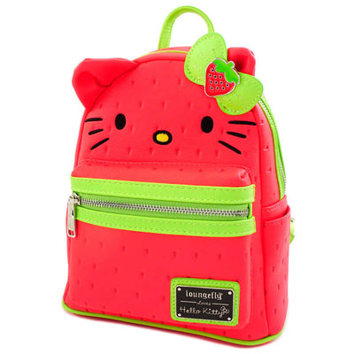 Sac Loungefly Hello Kitty Fraise rouge