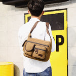 Besace Cartable Vintage | Sac-UrbanLife