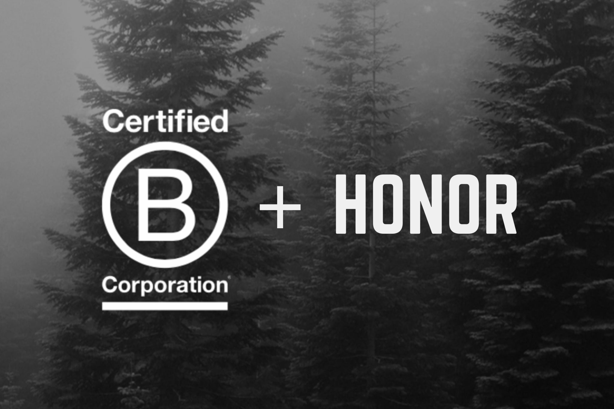 Honor becoming a B Corporation