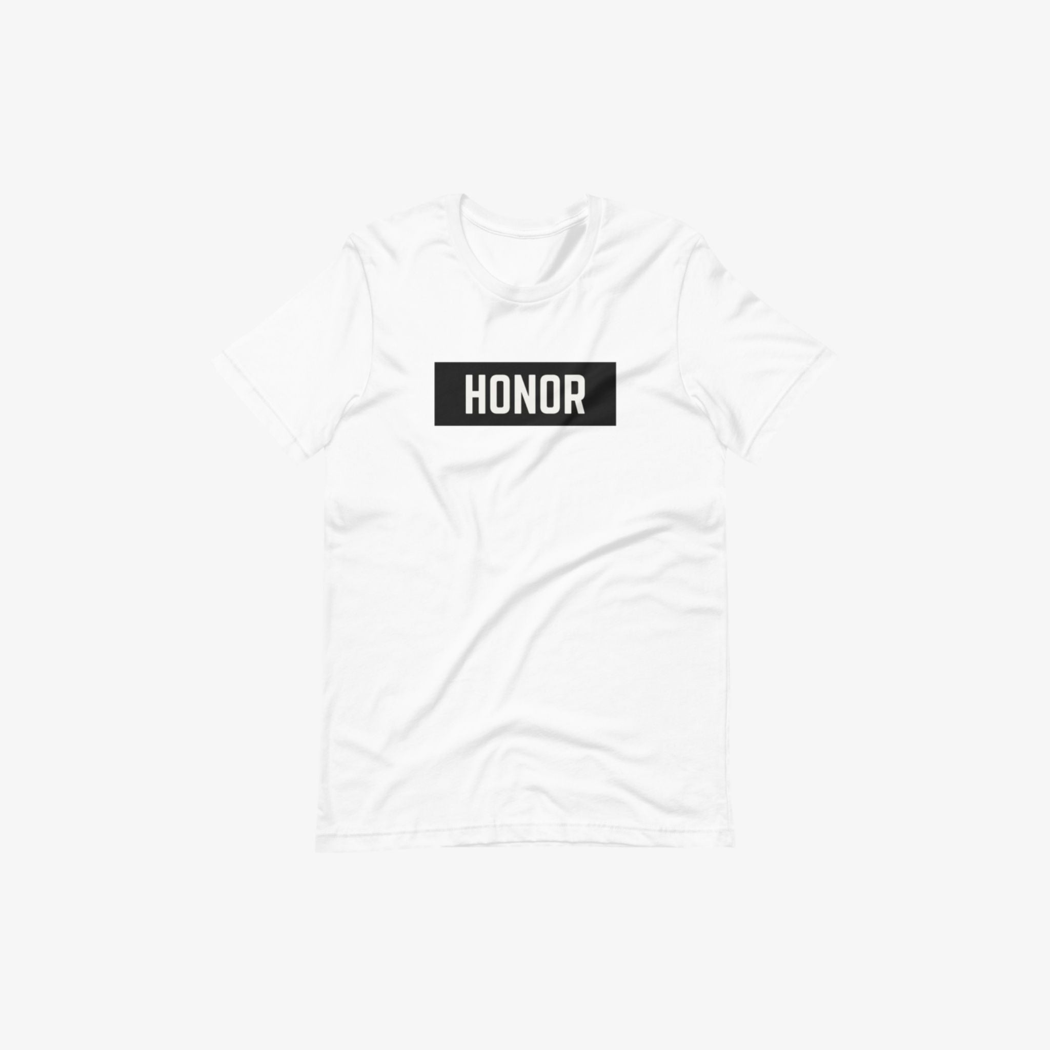 Honor's block logo t-shirt