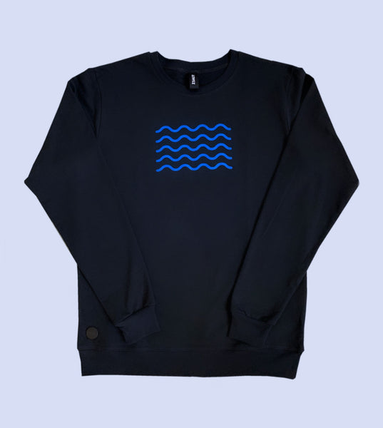 Carbon WAVES sweatshirt