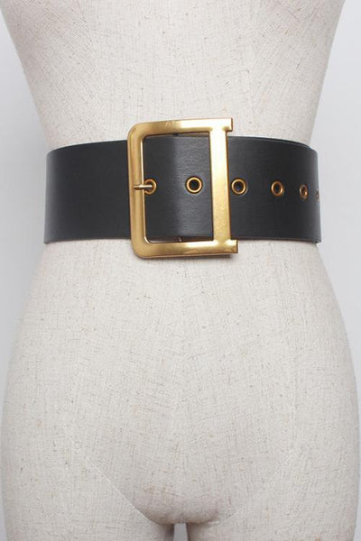 Square Pin Buckle Belt