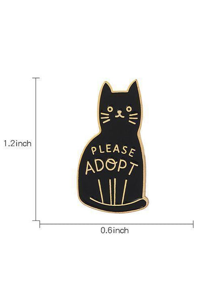 Please Adopt Pin