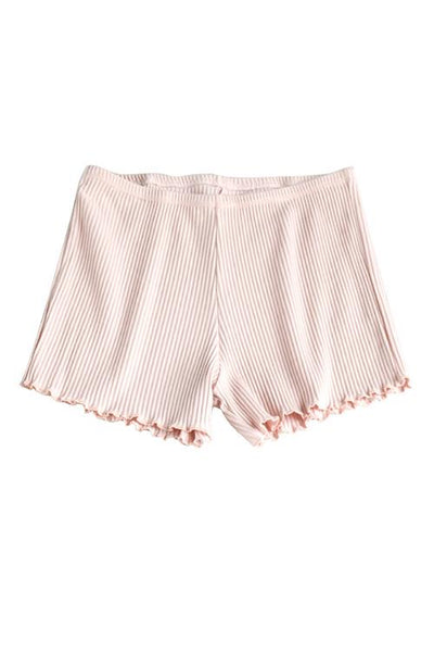 BOGO OFFERS Solid Ruffles Shorts