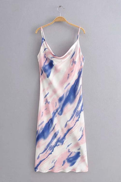 Splash Slip Dress