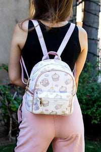 Cake Print Backpack