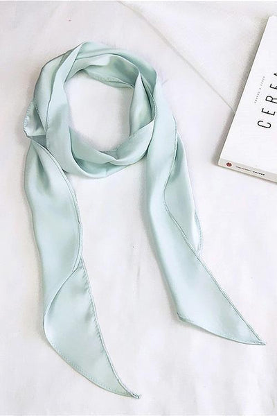 Solid Ribbon Scarf