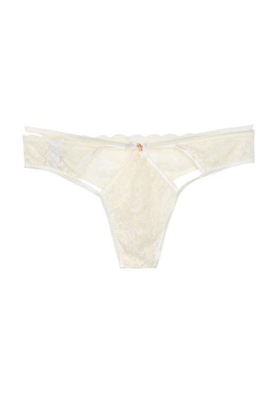 Lace Hollow Low Waist Thong