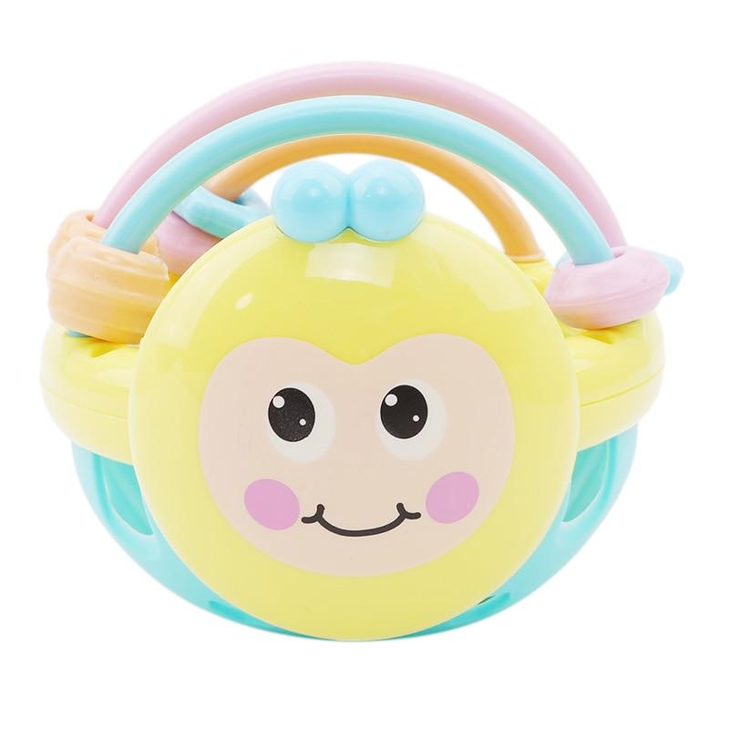 BeeBumble Soft Rattle