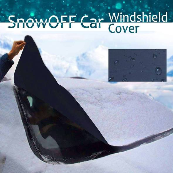SnowOFF Car Windshield Cover