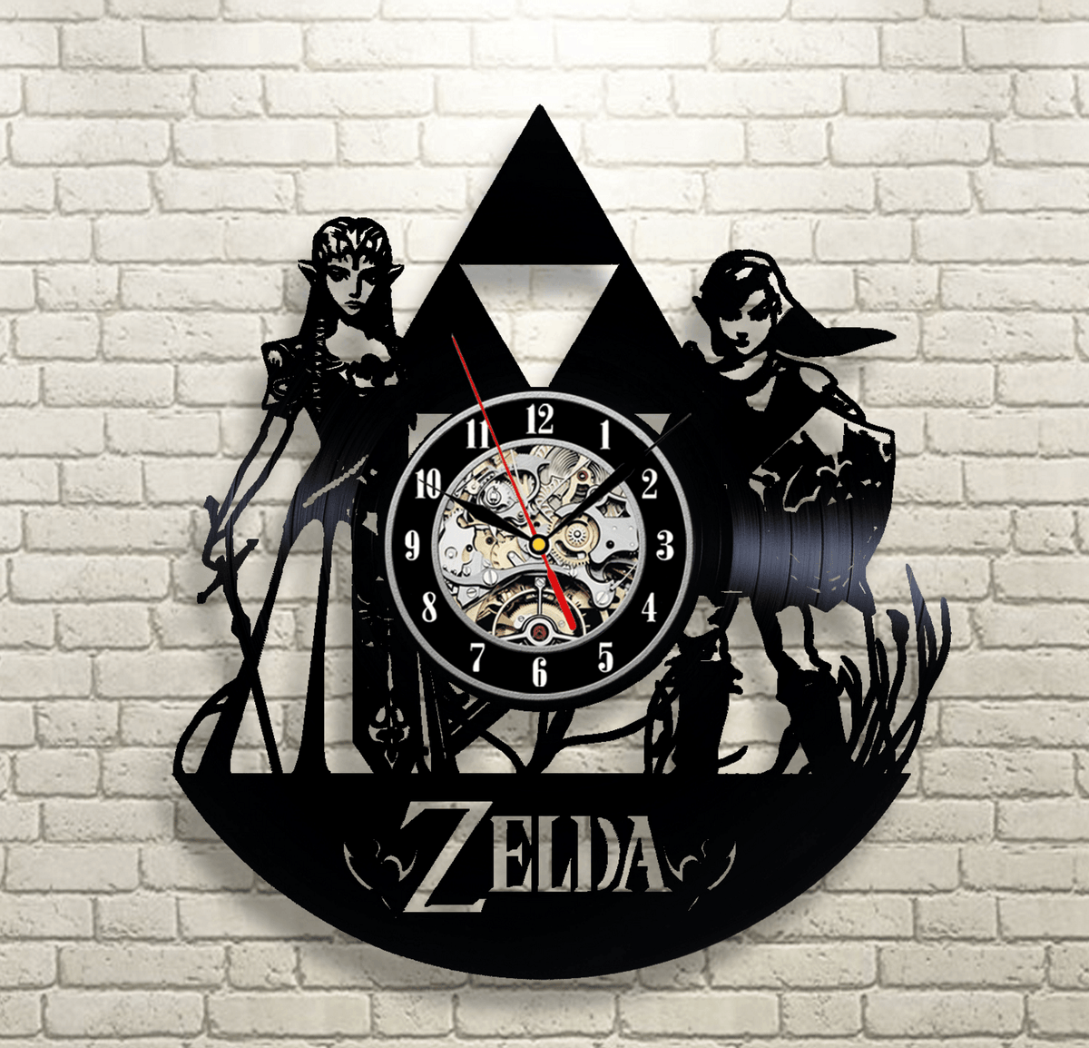 Legend of Zelda Vinyl Record Wall Clock v3