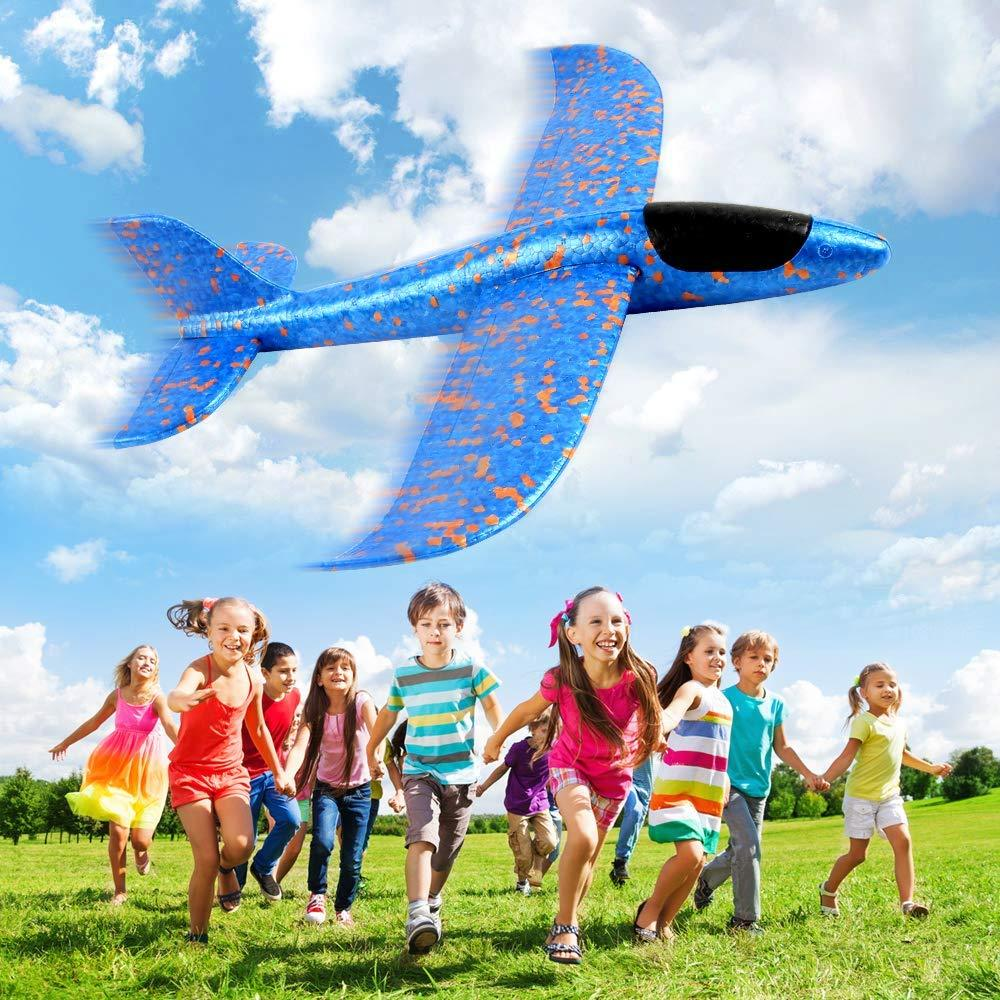 Hand Throw Light-Up Flying Glider Planes