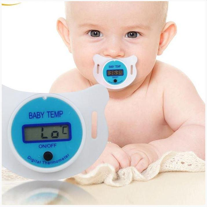 LED Thermometer Pacifier