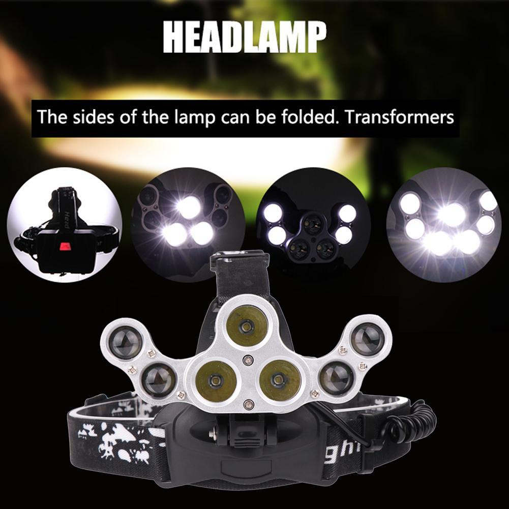 7 LED Adjustable Headlamp