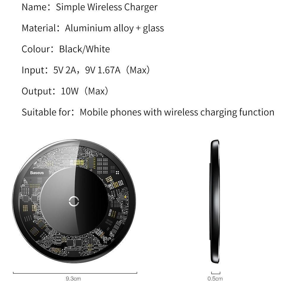 Ultra Slim Wireless Charger