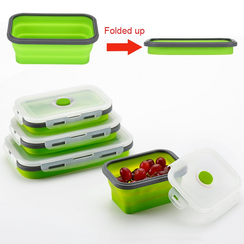 Ez Store Foldable Food Containers The Distinguished Nerd