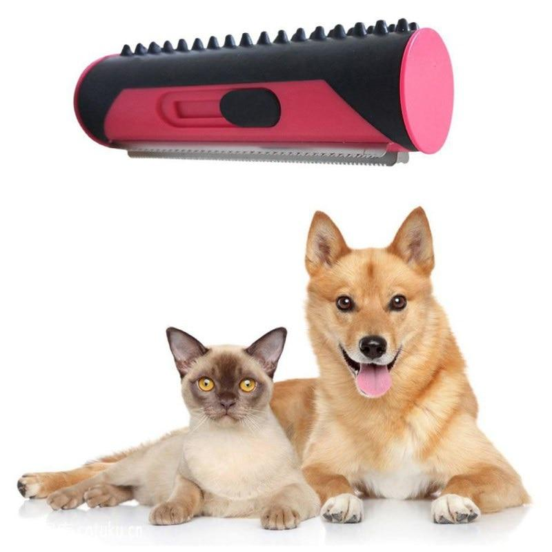 Self-Cleaning Pet Grooming Brush