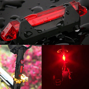 Rechargeable Bike Rear Safety Light