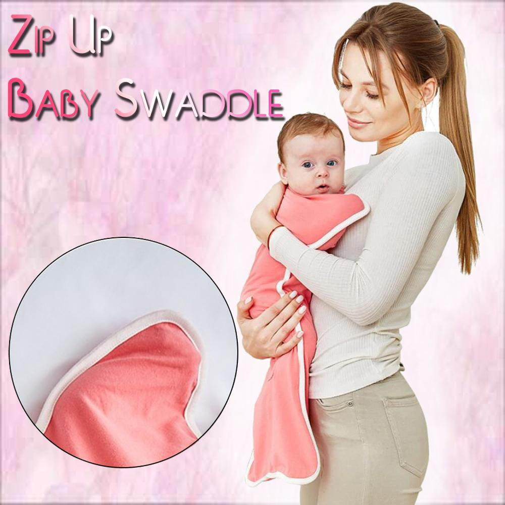 Zip Up Baby Swaddle