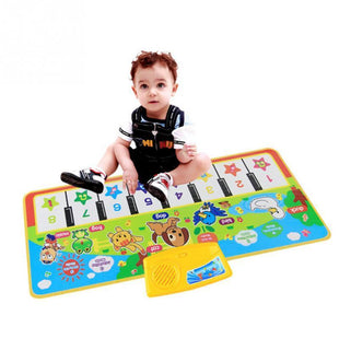 Kiddie Play Piano Musical Learning Piano Mat