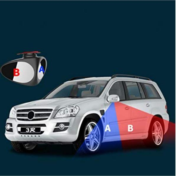 360 Rotation Adjustable Car Mirror