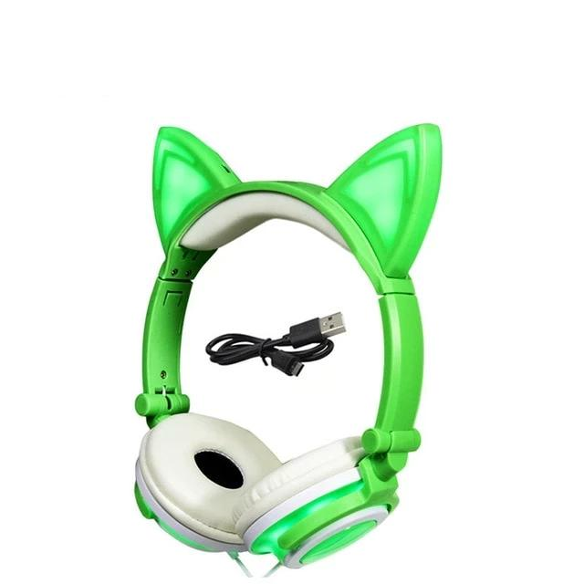 LED Cat Headphones