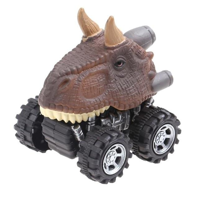 Mini Pull Back Dinosaur Cars