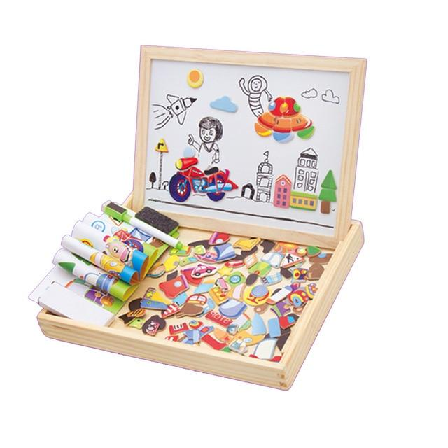 Educational Magnetic Toy Set