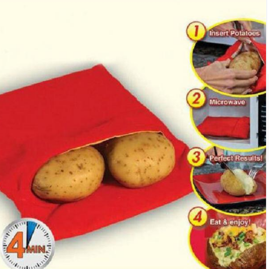 Reusable Microwave Potato Bag