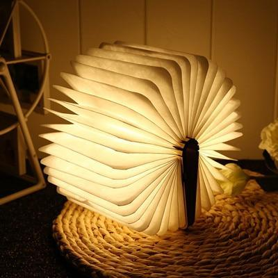 LED Folding Book Light Lamp