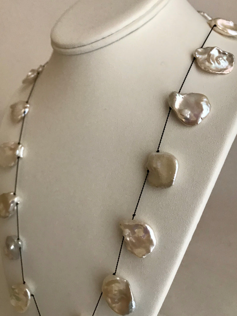 Super Special Keshi Pearl Necklace