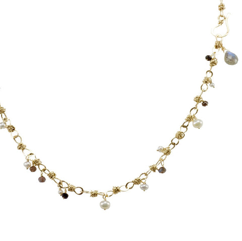 The Petite Bauble Link Necklace