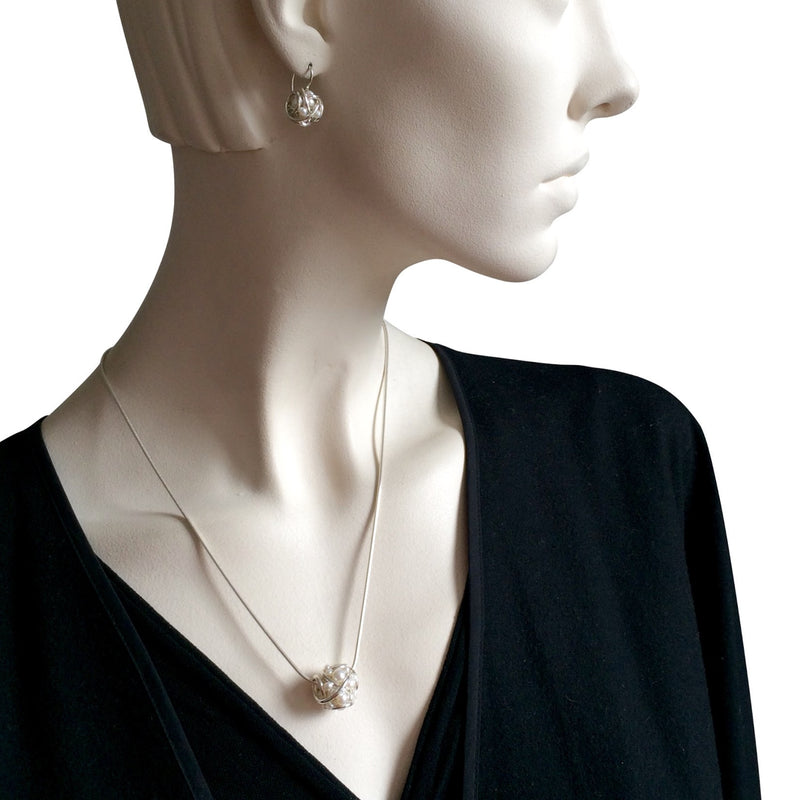 The Large Cluster Pendant Necklace