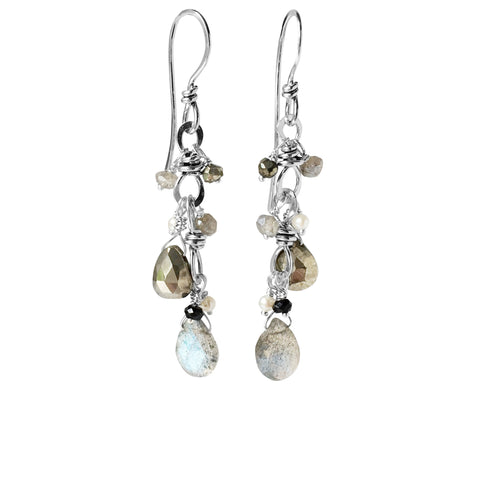 The Double Bauble Drop Earring