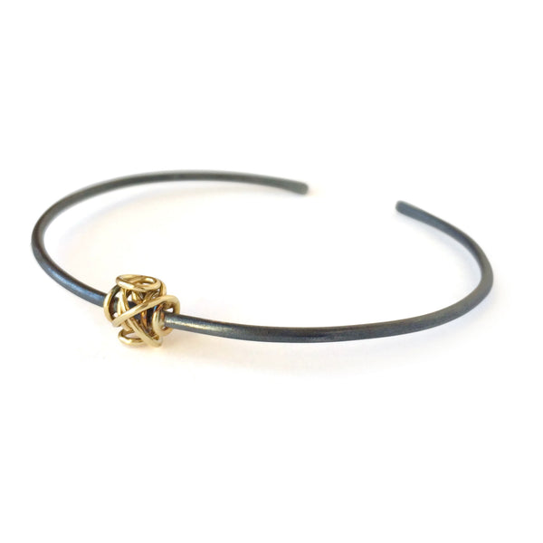 The Petite Sculpture Cuff Bracelet