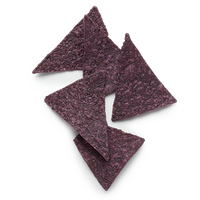 Organic blue corn chips