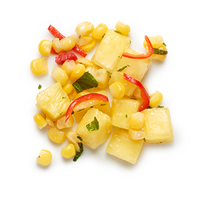 Fresh pineapple and corn salsa