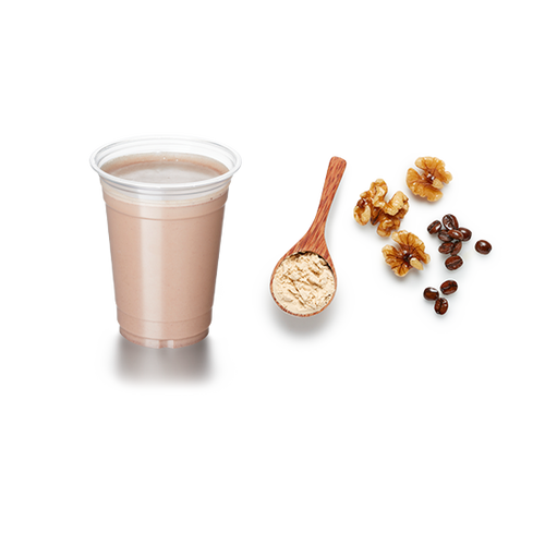 Coffee and Walnut shake - 24g Protein