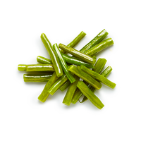 Steamed green beans