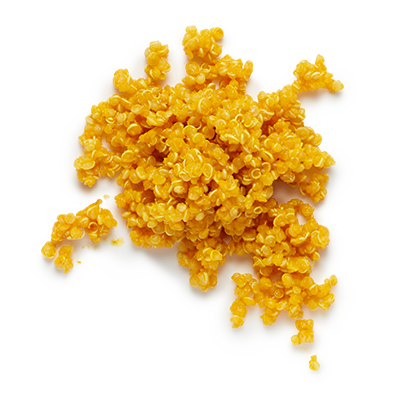 Turmeric-infused quinoa