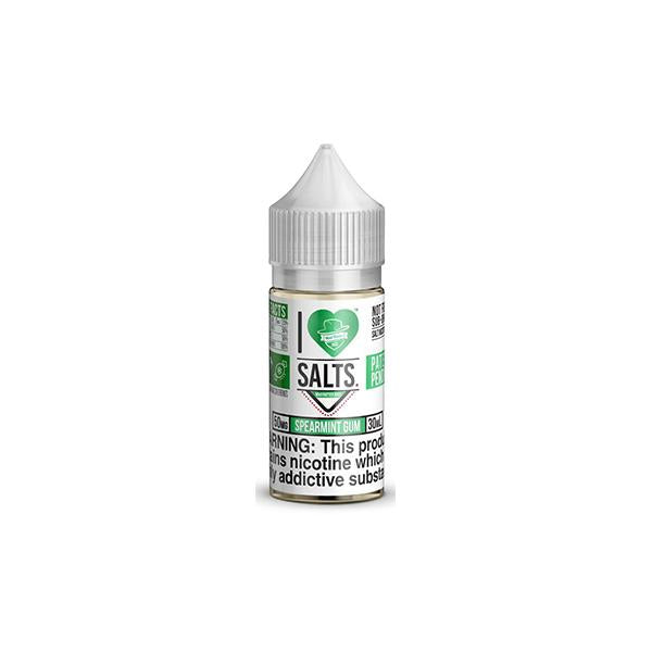 20MG I Love Salts by Matter Hatter Juice 10ML Flavoured Nic Salts (50VG/50PG) - class1vape.com