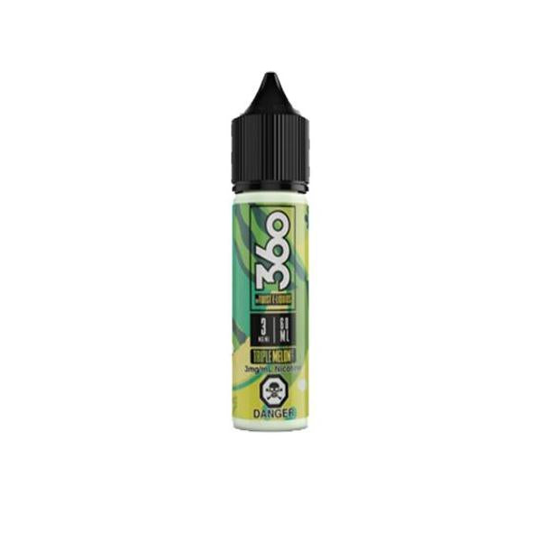 Triple 360 by Twist E-Liquids 0mg 50ml Shortfill (70VG/30PG) - class1vape.com