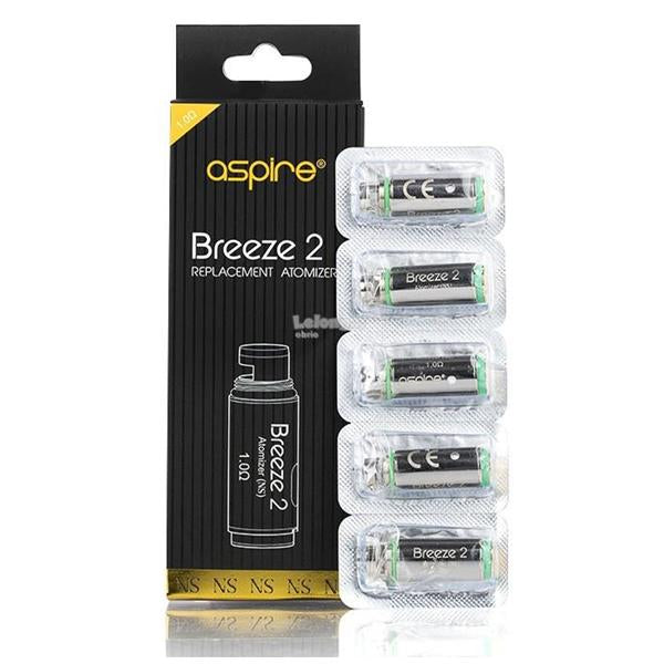 Aspire Breeze 2 Coil - 1.0 Ohm - class1vape.com