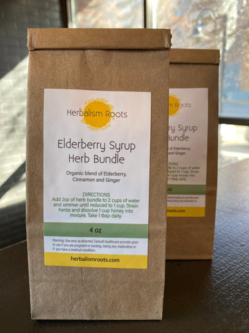 Elderberry Syrup Herb Bundle 4oz