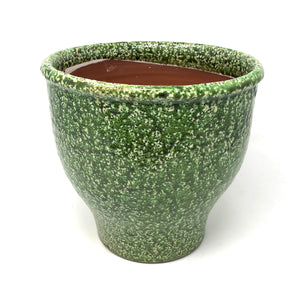 Forest Moss Speckled Vases
