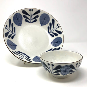 Blue and White Ceramic Bowls