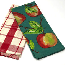 Load image into Gallery viewer, Orchard Cotton Kitchen Towels