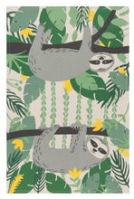 Load image into Gallery viewer, Sloth Cotton Kitchen Towel