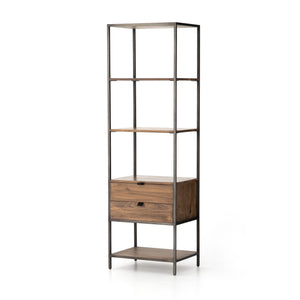 Parker Shelving Unit in Sante Fe Auburn