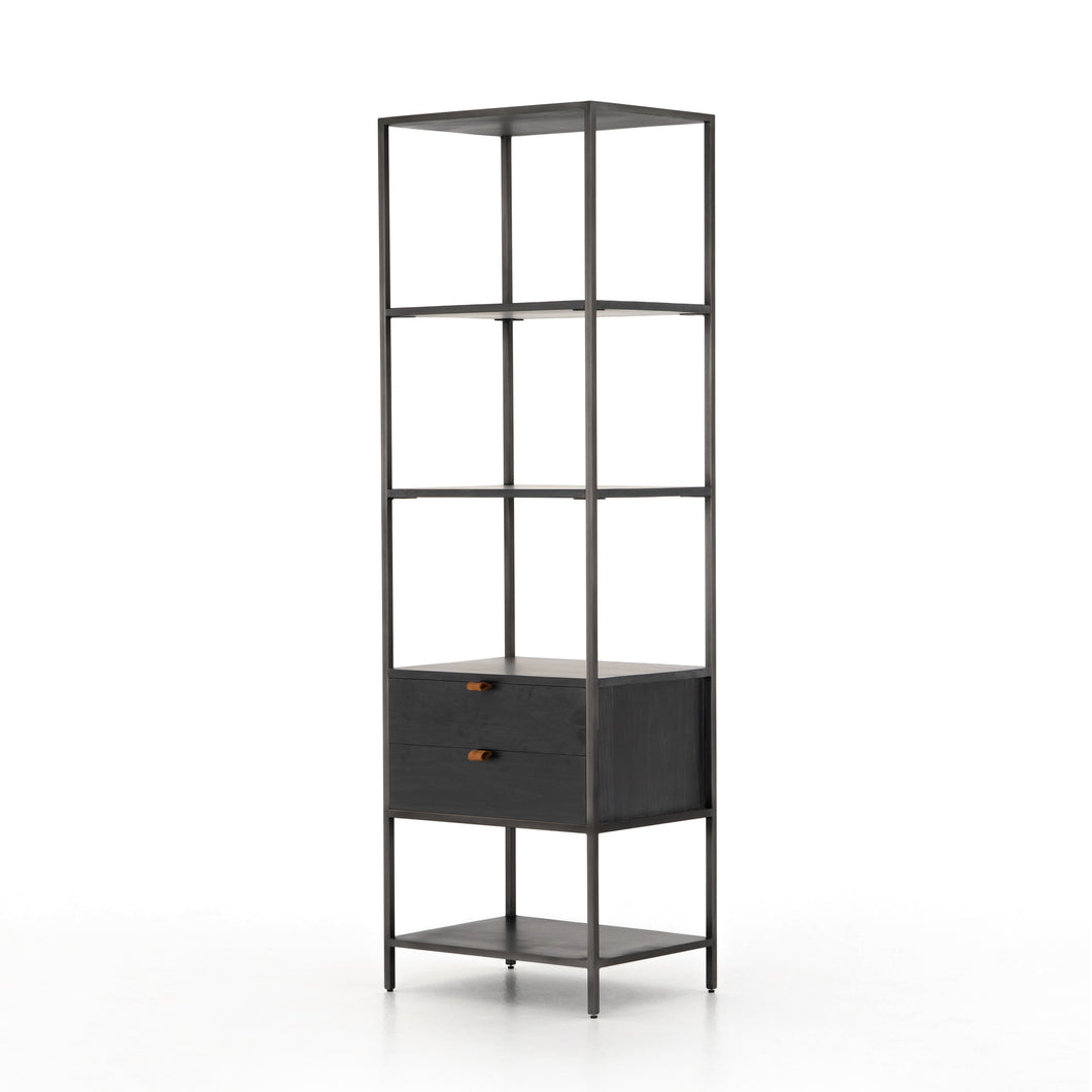 Parker Shelving Unit in Ebony Wash